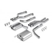 BORLA IS-F CAT BACK STAINLESS DUAL EXHAUST